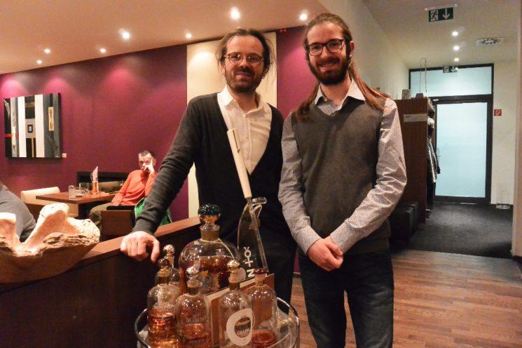 Das Doktor Tartufo Team: Die Brüder Mario und Vanni Moscariello aus Essen