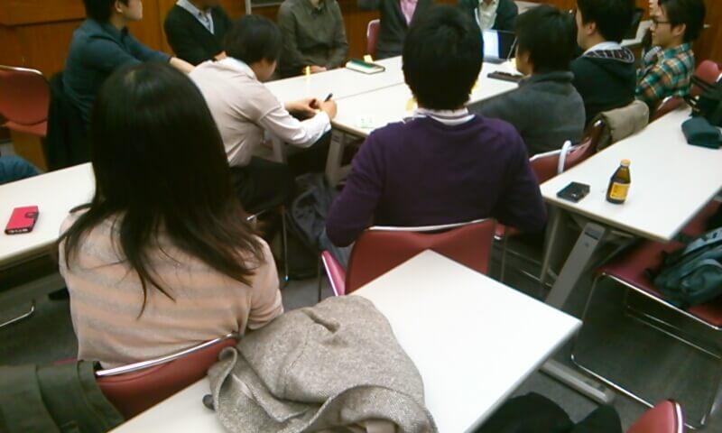 東京の読書会の活動風景です。