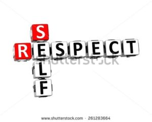 meaning of self respect in Hindi