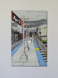 Alley with L Platform