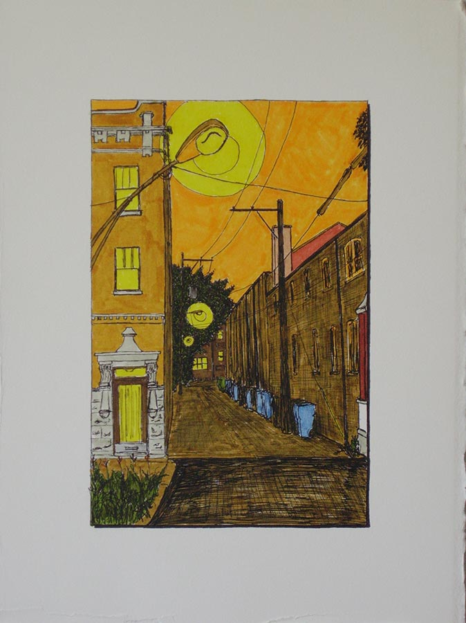 Alley with Second Childhood Home