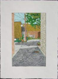 William Dolan - Alley with Streetlight