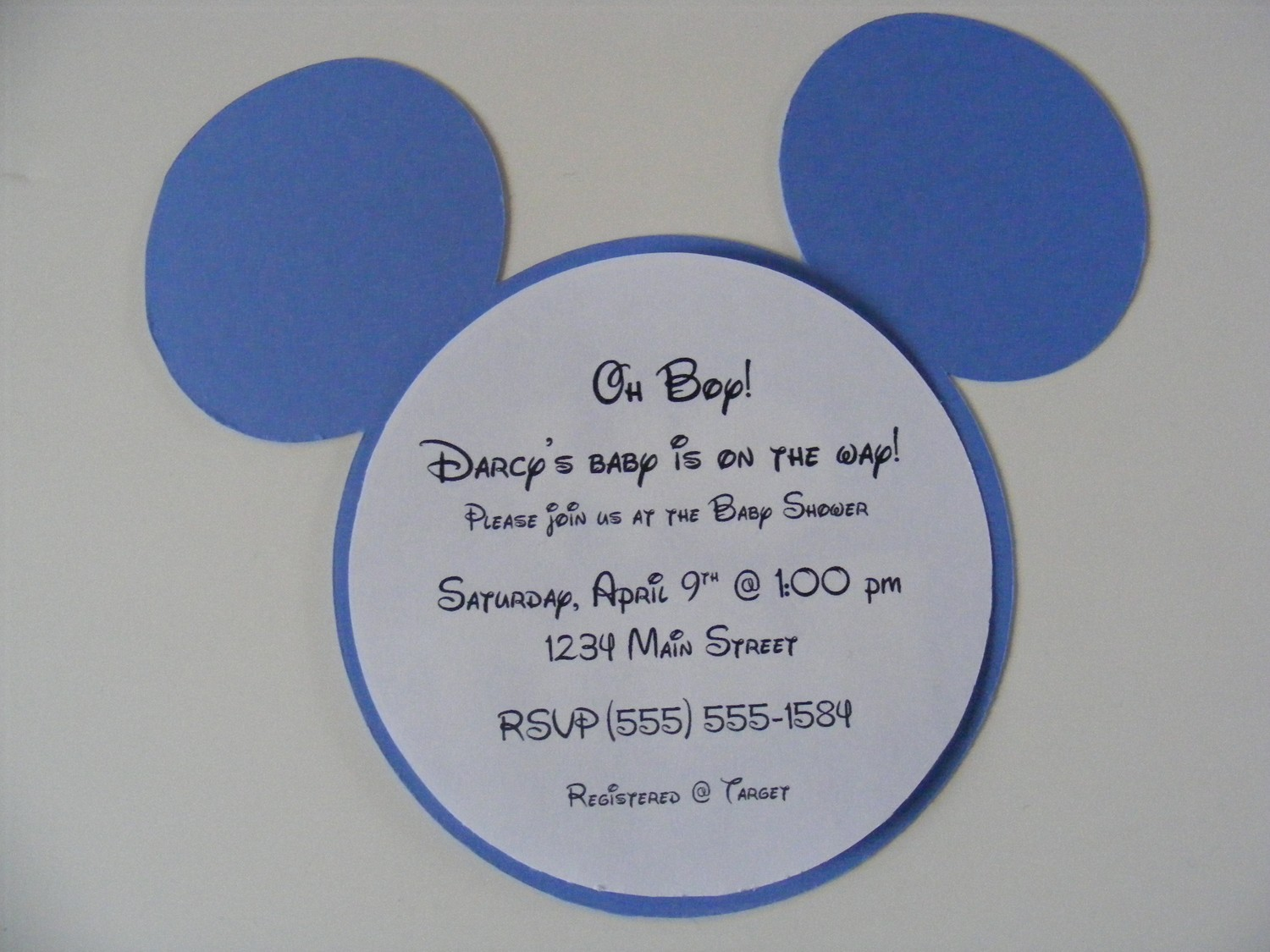 Cheap Custom Printed Invitations