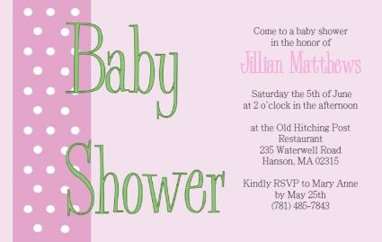 Simple Baby Shower Invitations Template Dolanpedia