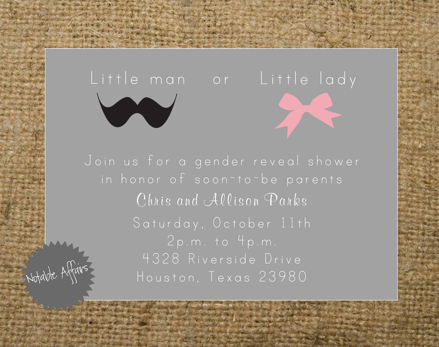 Flower Girl Poem Invitation