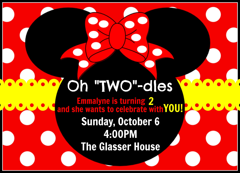 minnie mouse invitations 1st birthday