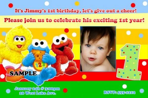 personalized sesame street birthday