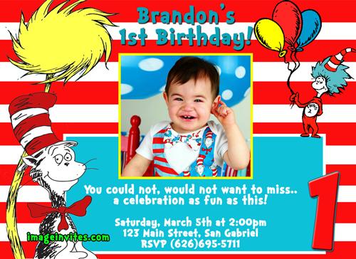 dr seuss birthday invitation wording