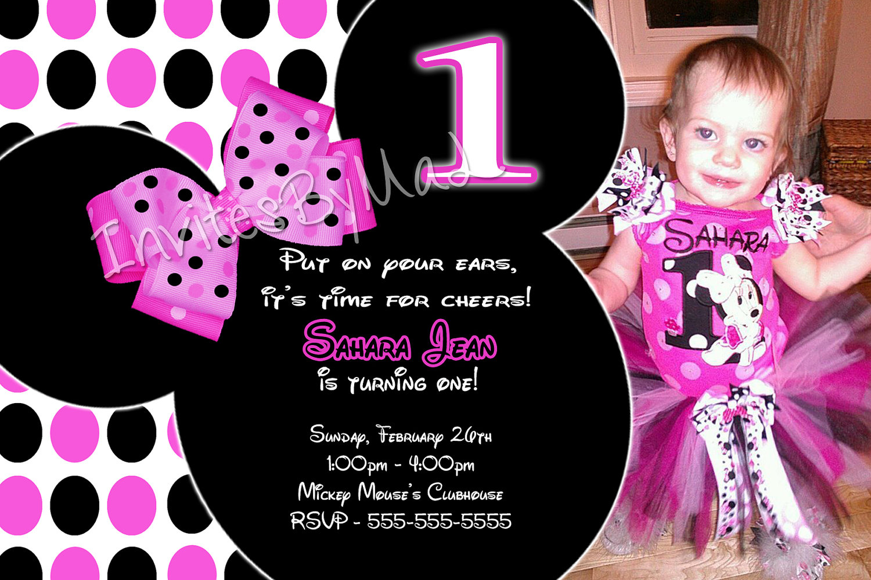 baby first birthday invitation wording