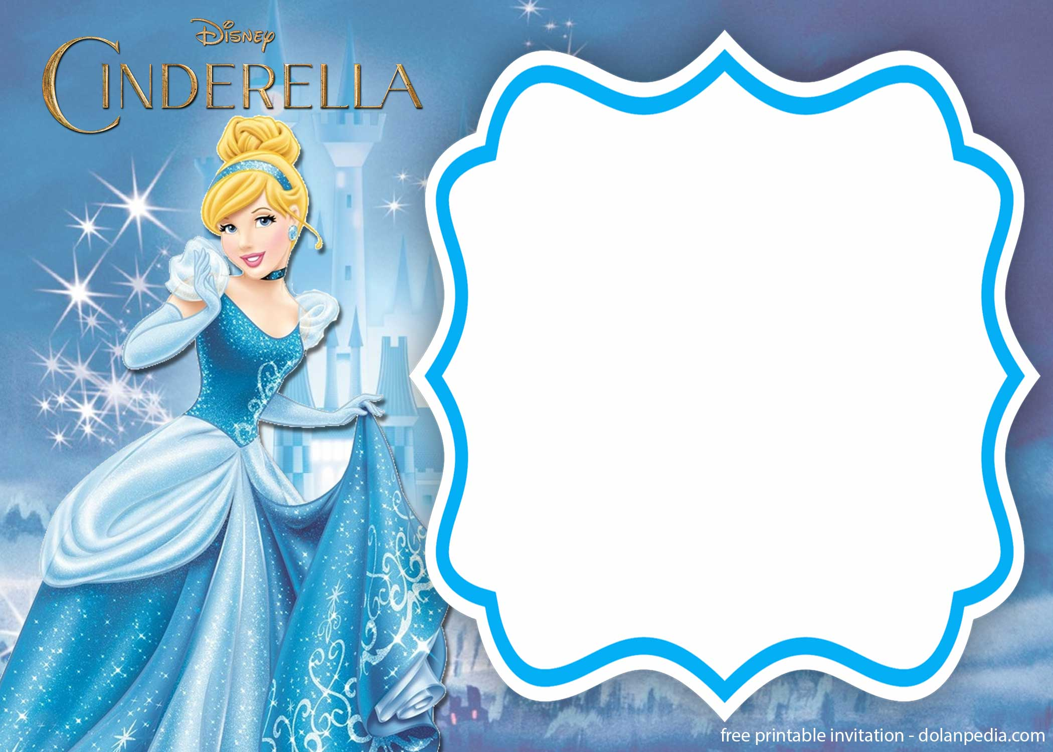 free printable cinderella royal