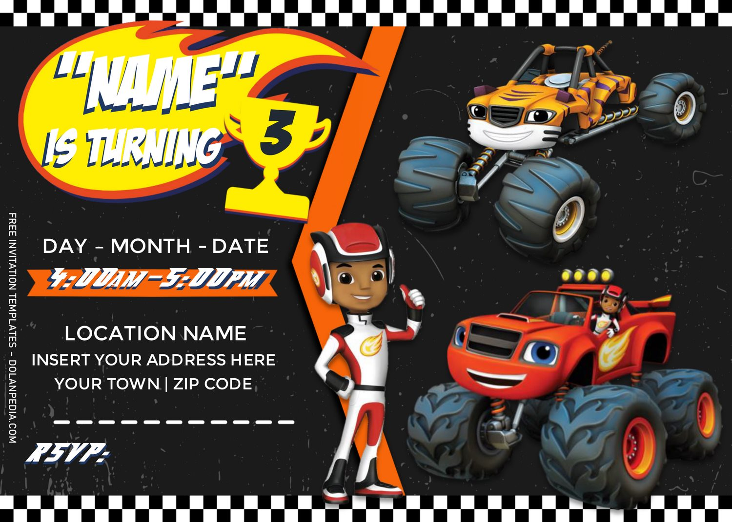 free blaze and the monster machines
