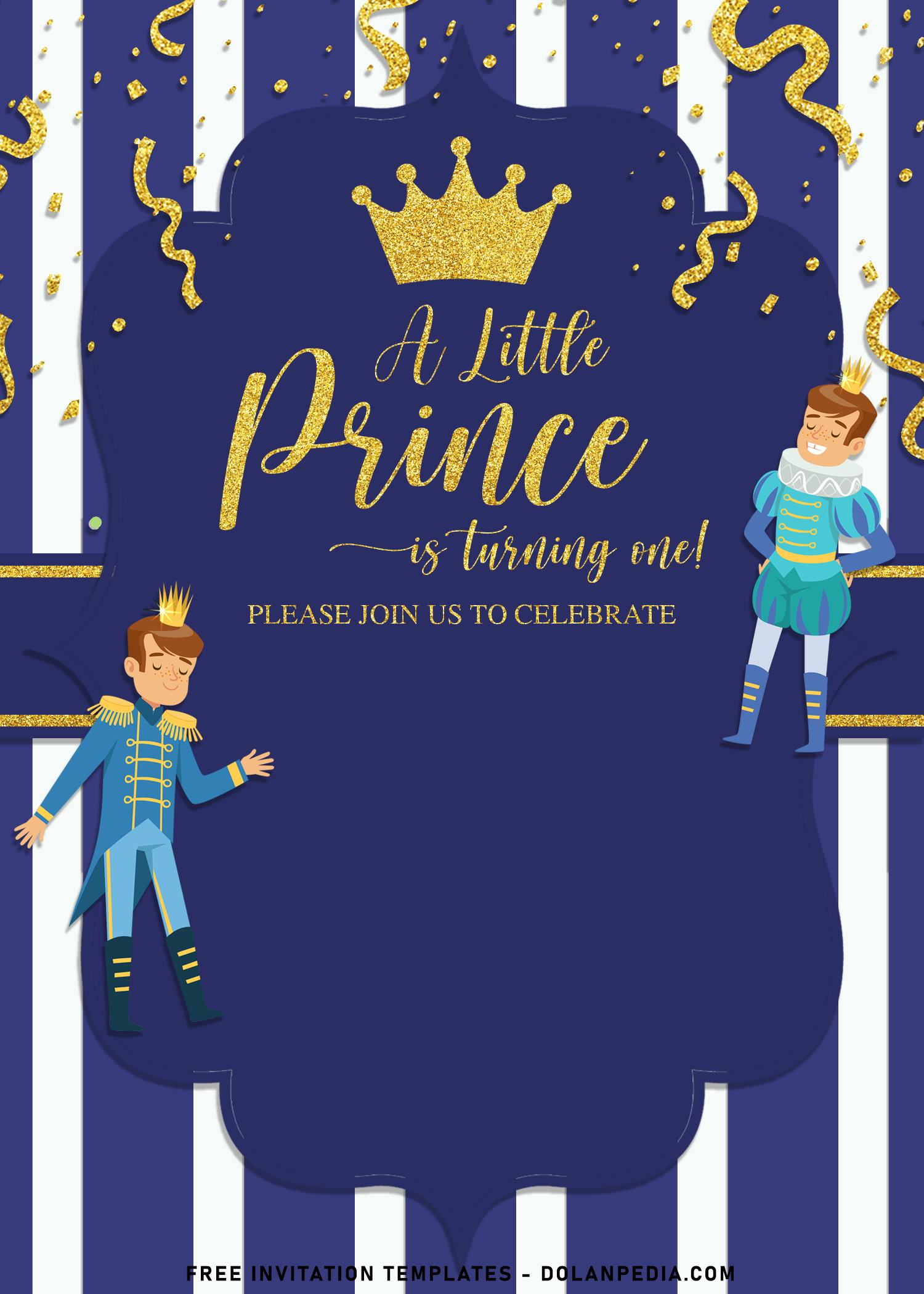 10 cool gold glitter prince charming