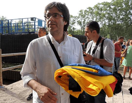 """Puigdemont va a vender el prusés a Europa... y al día siguiente los """"Empresaris de Catalunya""""dirán que tururut"""