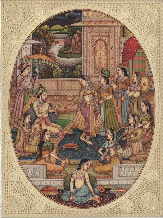 moghul-dance-art