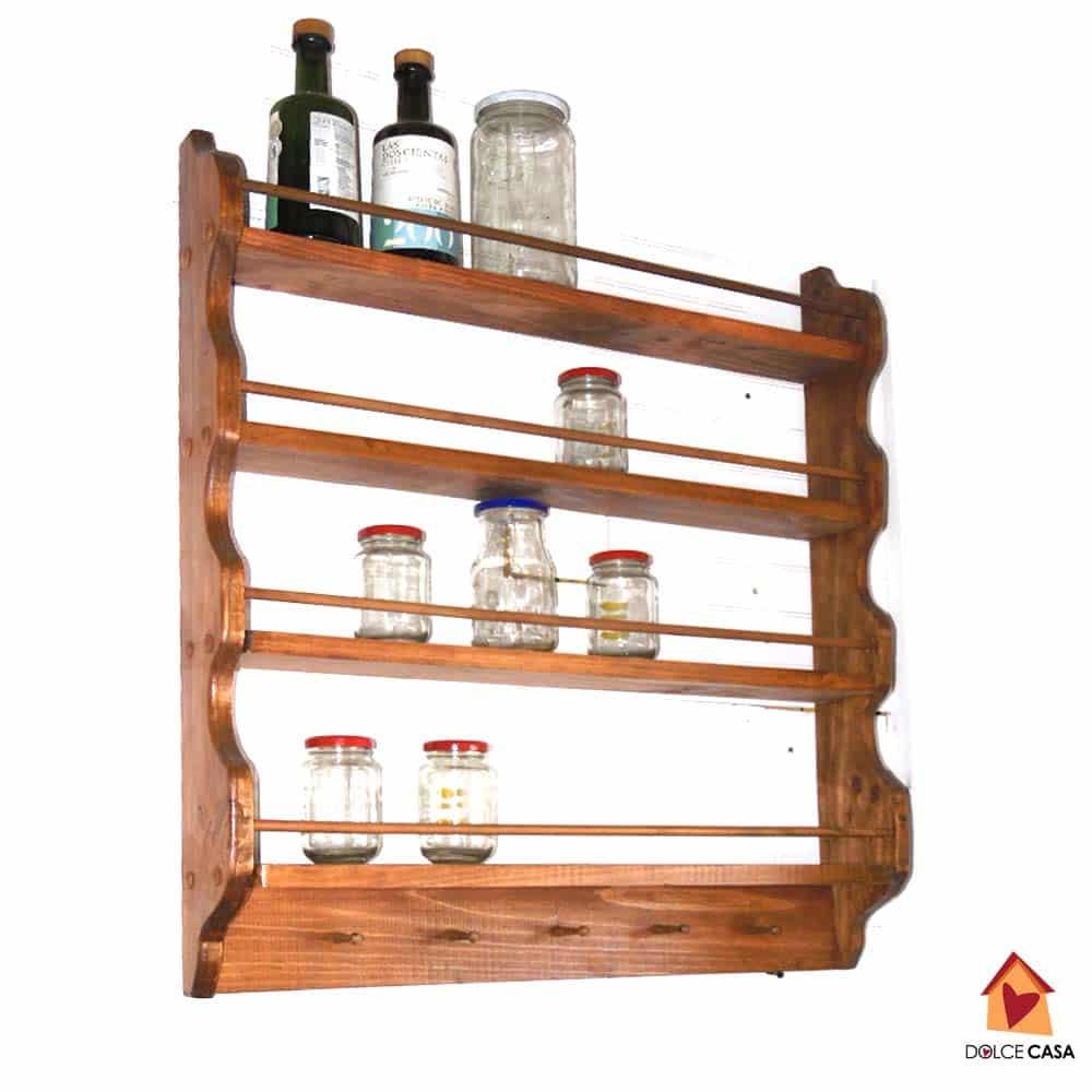 Cuenta con 4 repisas para disponer frascos de todo tipo para guardar  especies  la repisa superior permite exponer frascos grandes de 1 ... 7630fa38f23e
