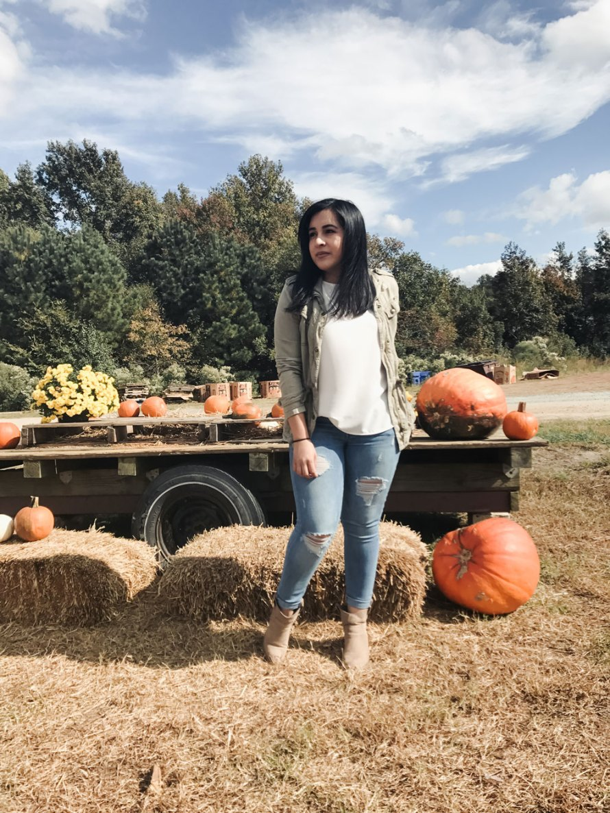 pumpkin patch outfit casual