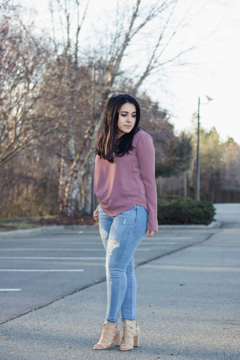 Perfect Transition into Spring outfit  Dolce Rose