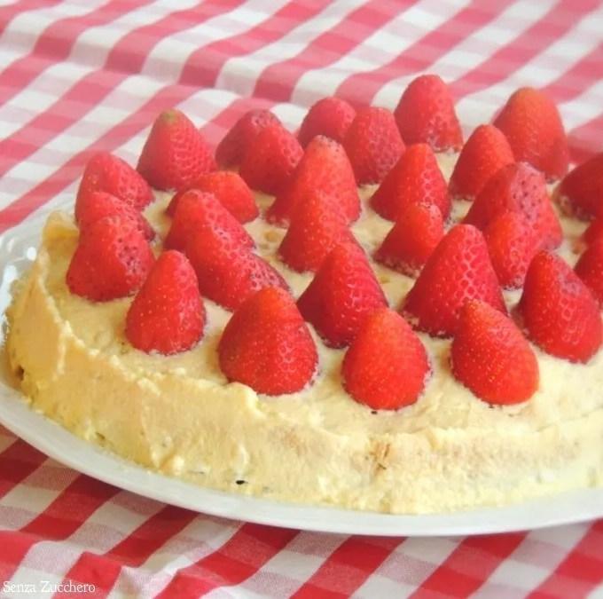 Torta di Fragole e Crema Chantilly (1)