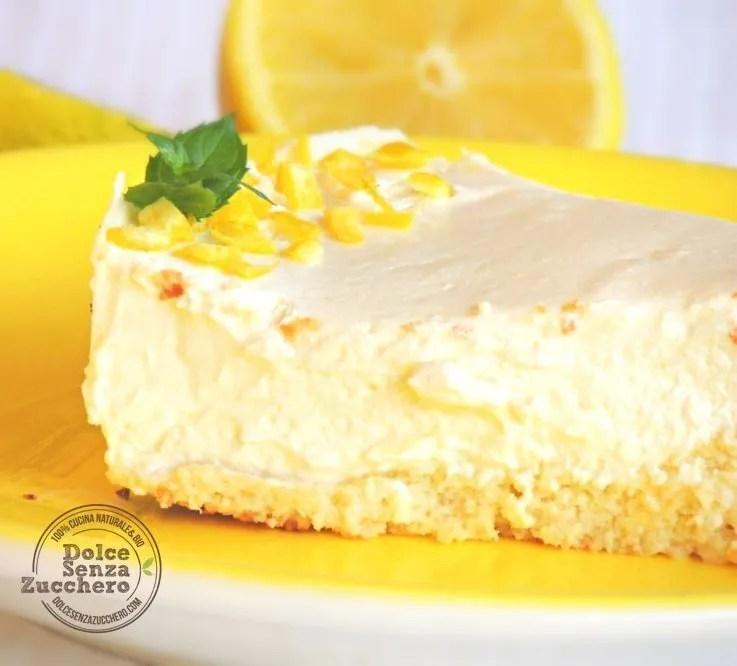 Cheesecake al limone e mandorle (6)