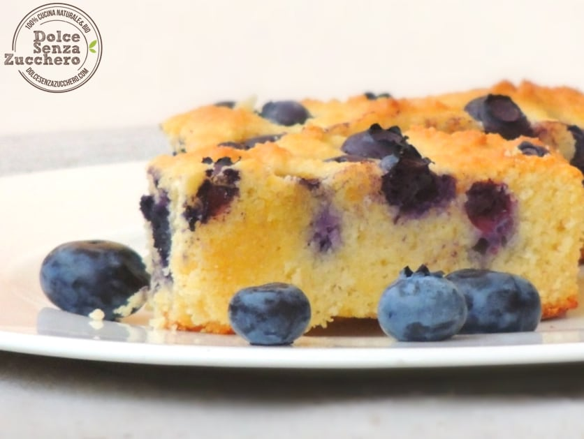 Torta di Mirtilli e Mandorle (1)