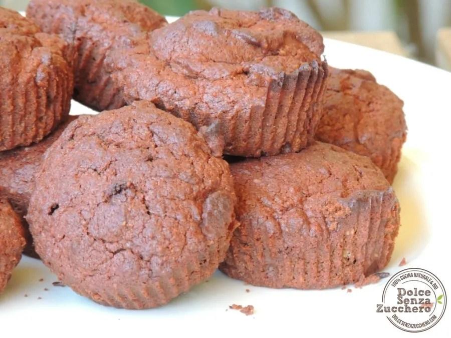 Muffin al Cioccolato Senza Farina (1)