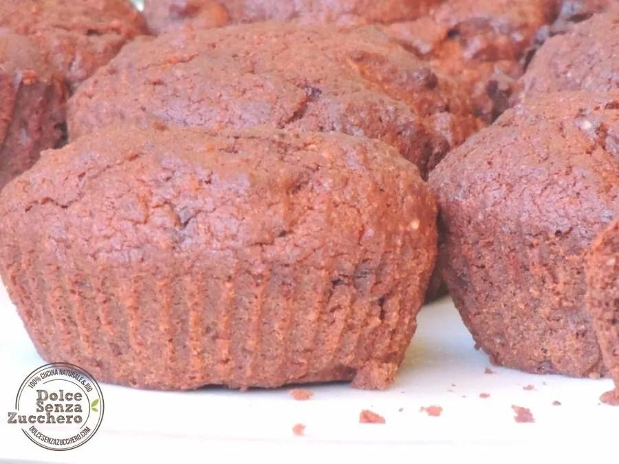 Muffin al Cioccolato Senza Farina (6)