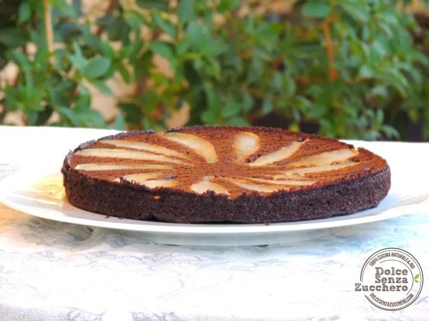 Torta carrube e pere (2)