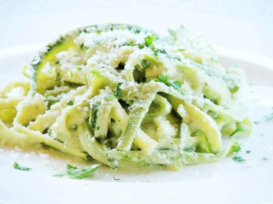 Spaghetti di Zucchine a Basso Indice Glicemico