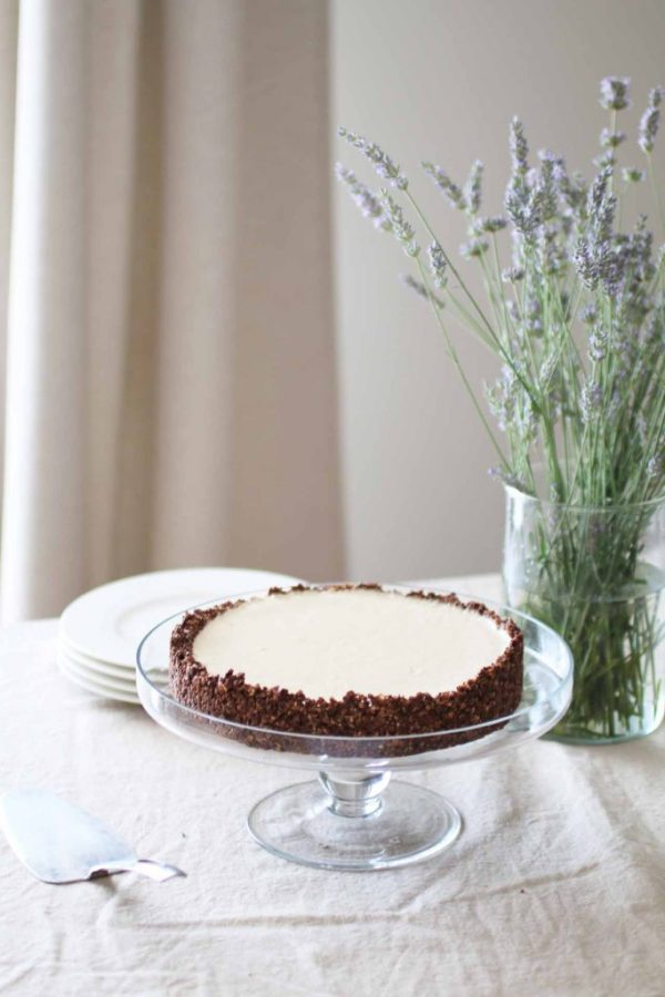 Torta fredda al burro di arachidi_Dolce Senza Zucchero (5)