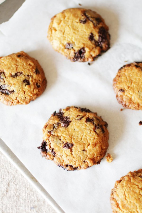 Biscotti al Burro di arachidi con gocce di cioccolato (5)