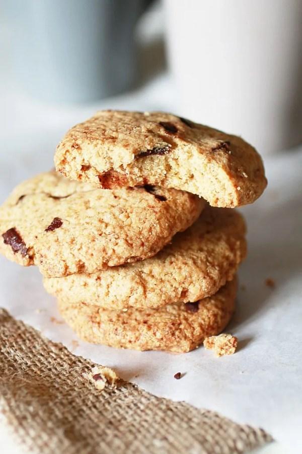 Biscotti con Gocce di Cioccolato e Farina di Avena10