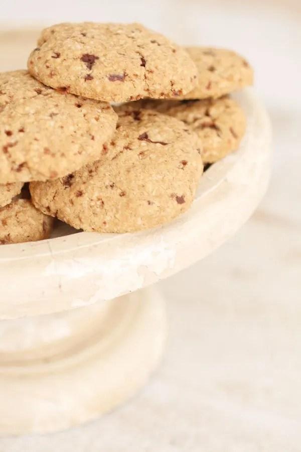 Biscotti con Farina di Sorgo Senza Zucchero con Cocco