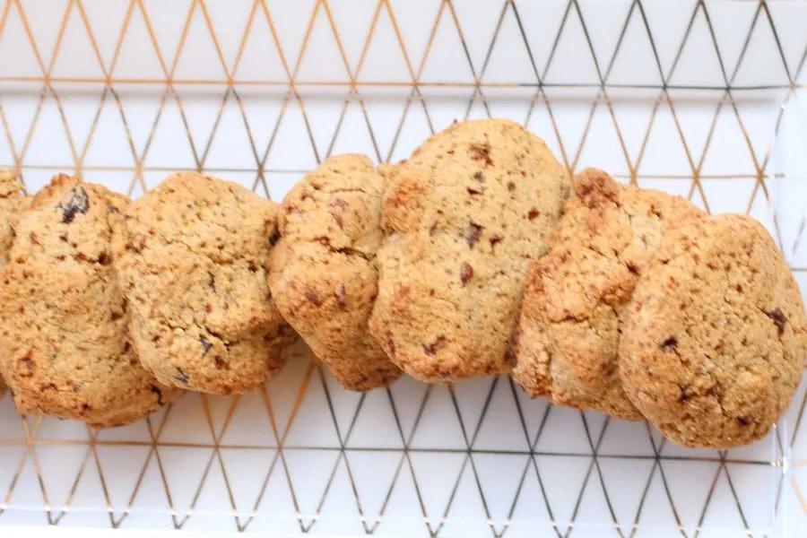 Biscotti con Farina di Chufa e Nocciole e Gocce di Cioccolato favolosi