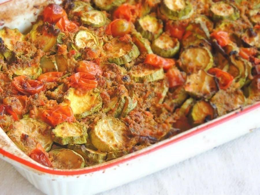 Zucchine con Capperi, Alici, Salvia e Pomodoro_3