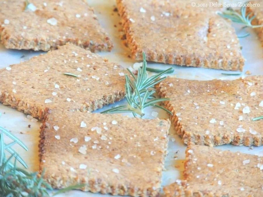 Crackers al Rosmarino Senza Farina (2)