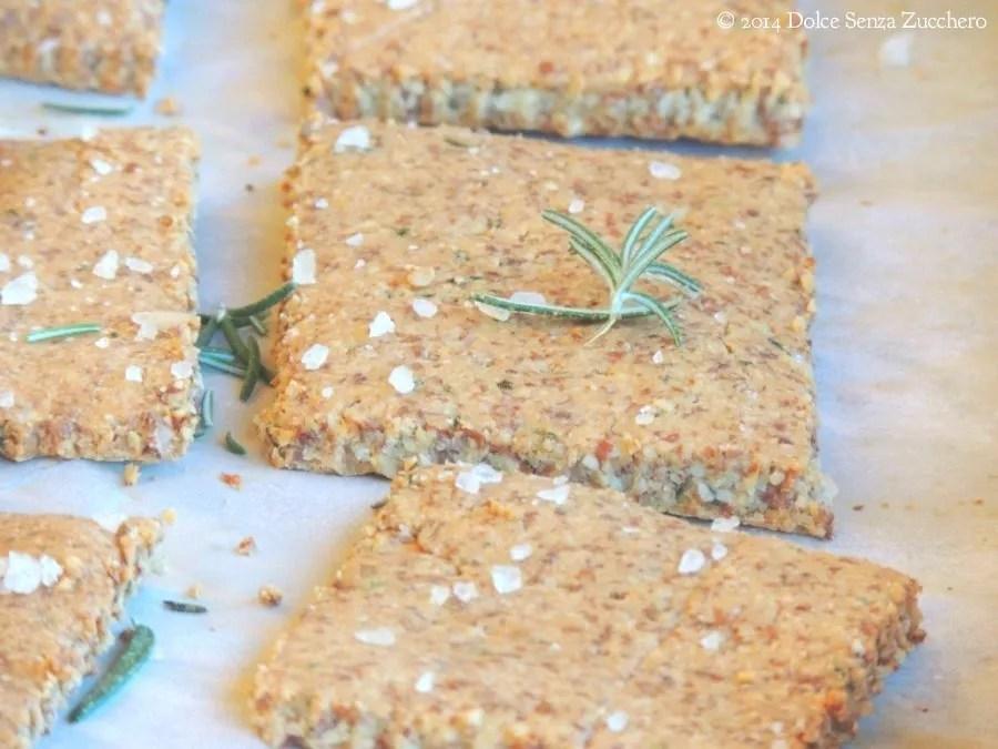 Crackers al Rosmarino Senza Farina (3)