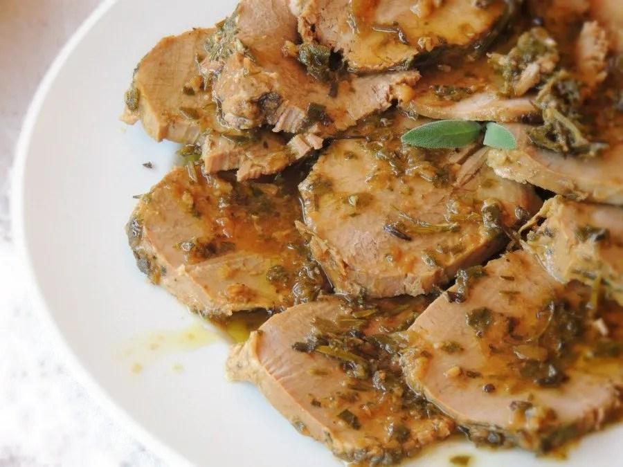 Girello Freddo in Salsa di Aromi (1)