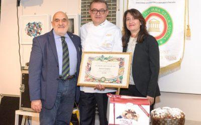 Il Dolce Mila Premiato dall'Accademia Italiana della Cucina