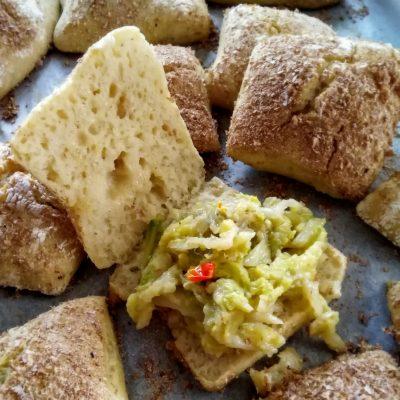 Bocconcini di pane con semola e crusca