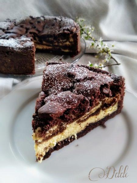 Torta-crostata Tiramisù al forno