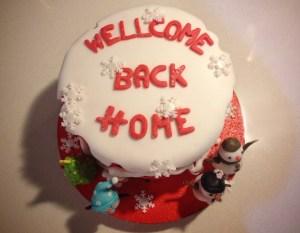 Wellcome cake