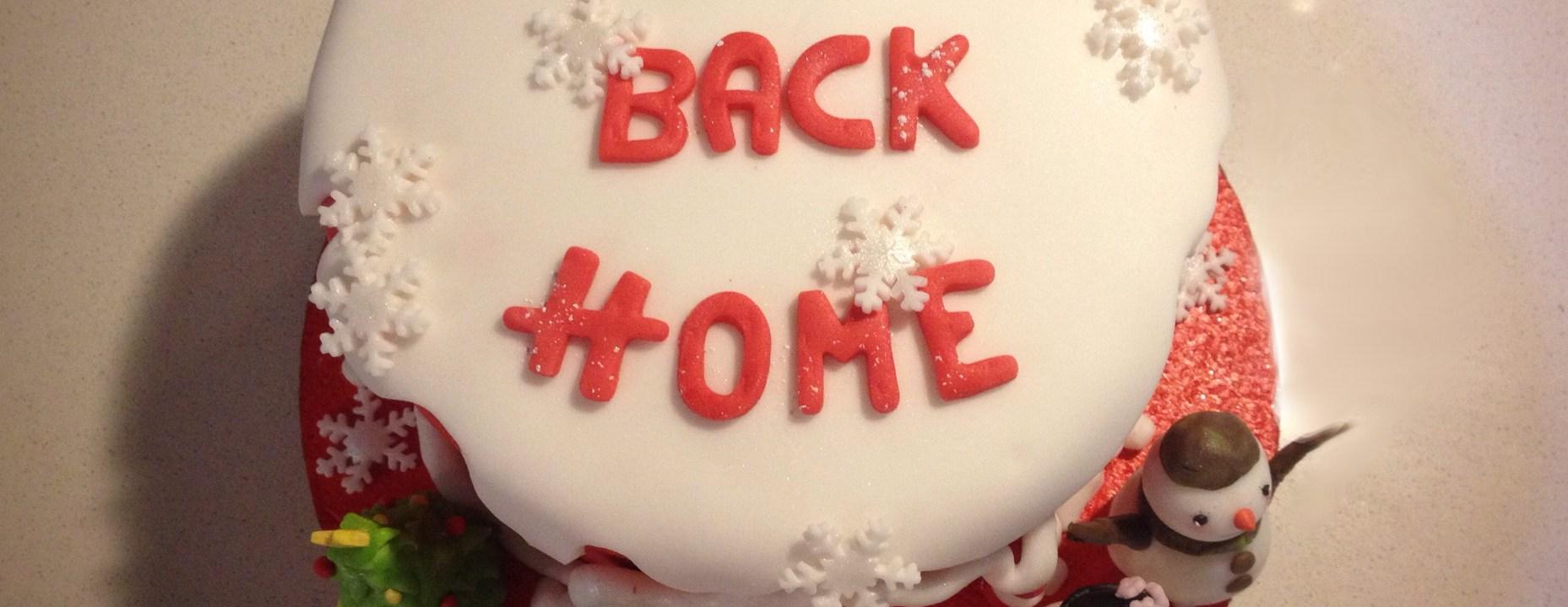 Eccomi di nuovo qui... con una torta di bentornato