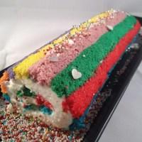Una Rainbow Roll Cake e la mia nuova vita