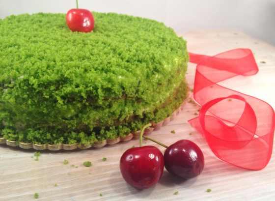 Green cake 1