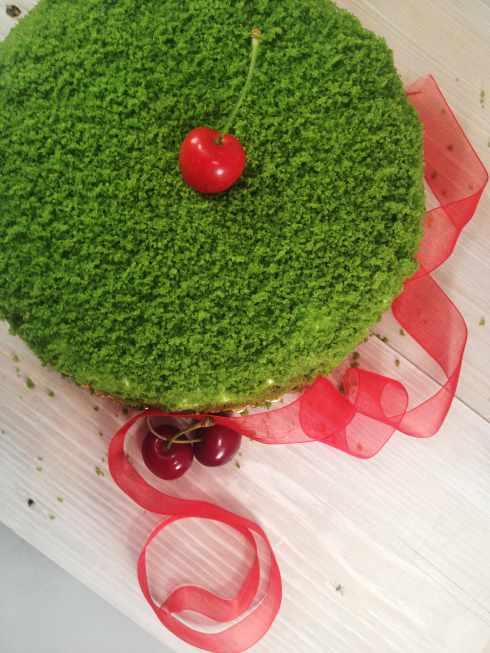 Green cake 2