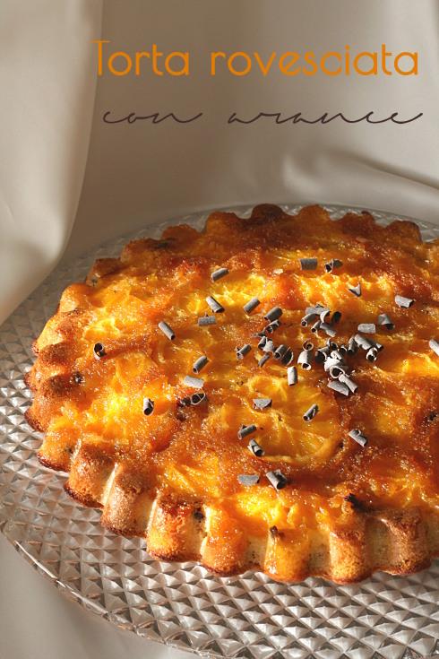 Torta rovesciata arancia 1