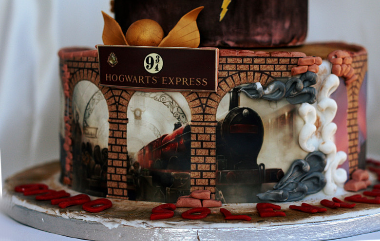 Harry Potter Cake 3