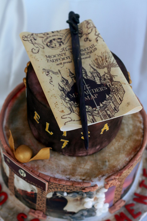 Harry Potter Cake 7