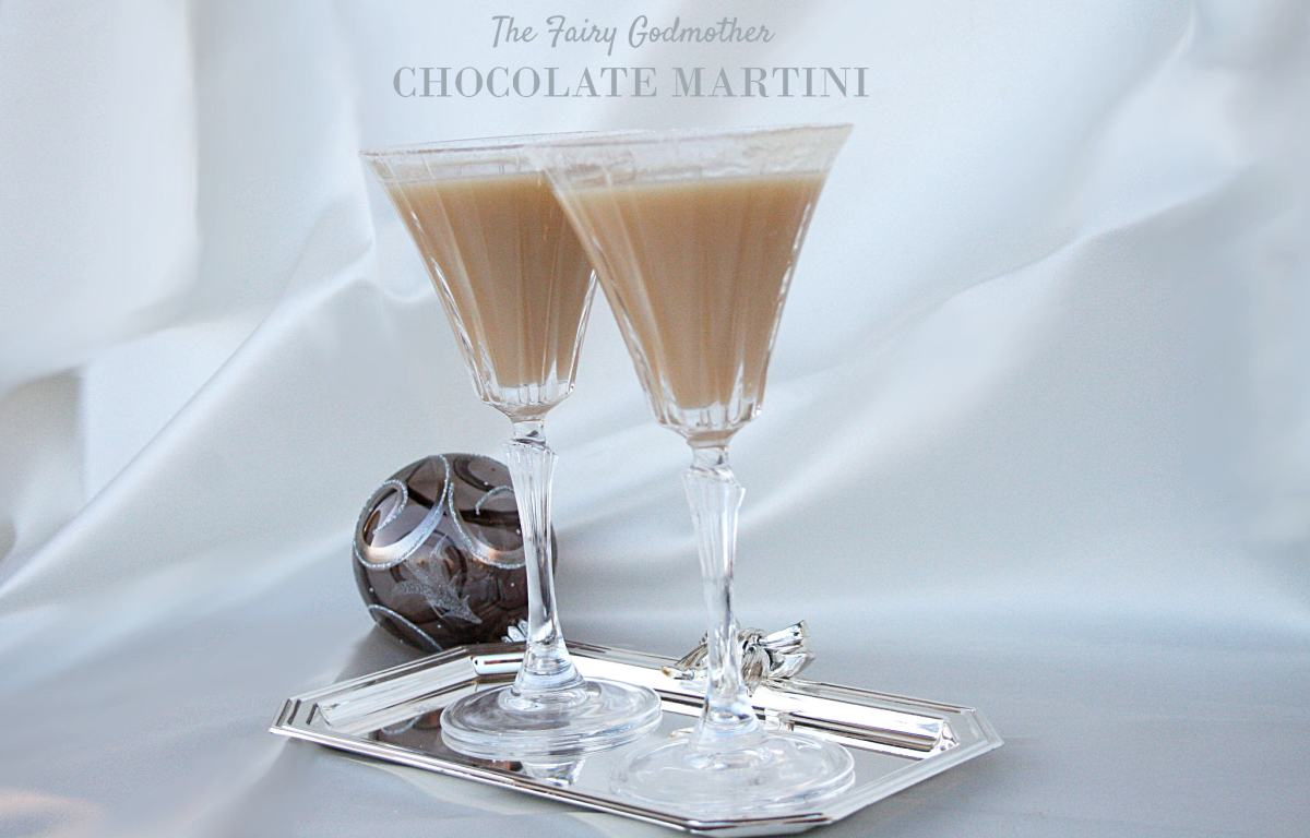 The Fairy Godmother Chocolate Martini