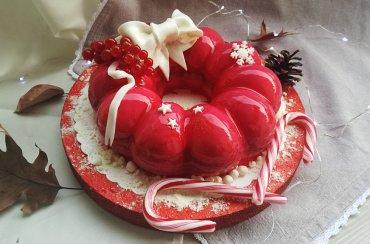 Ghirlanda di Natale al Cointreau e cioccolato